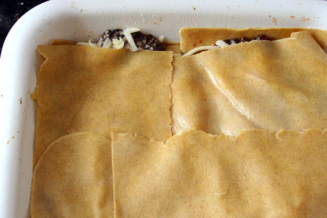 swiss chard lasagna 2