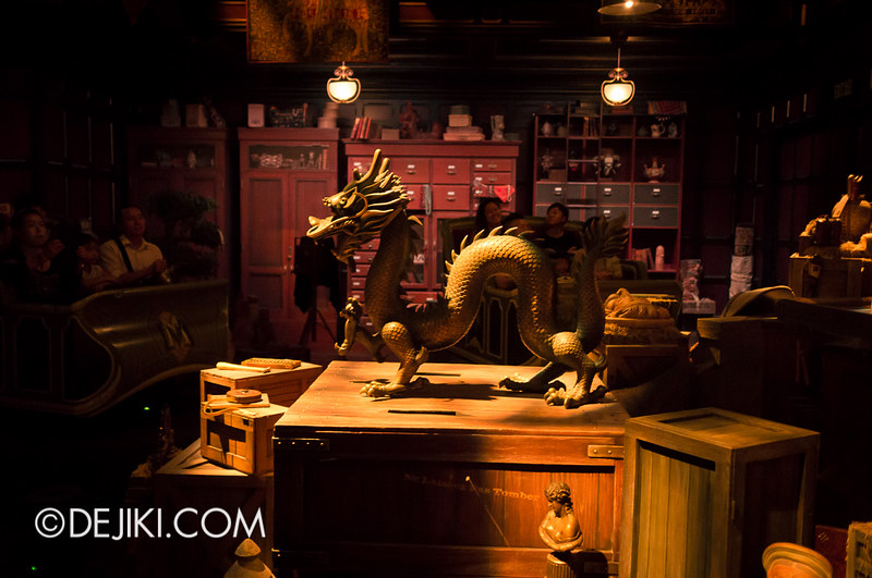 Mystic Manor - Bronze Dragon