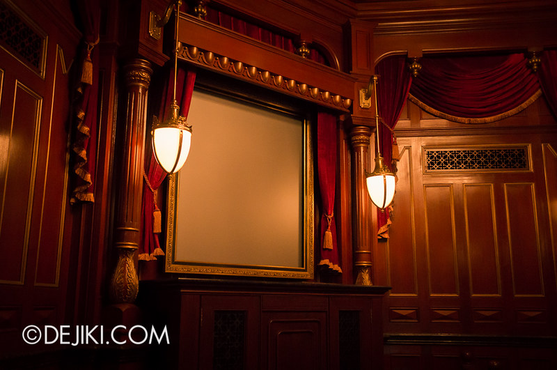 Mystic Manor - Preshow room
