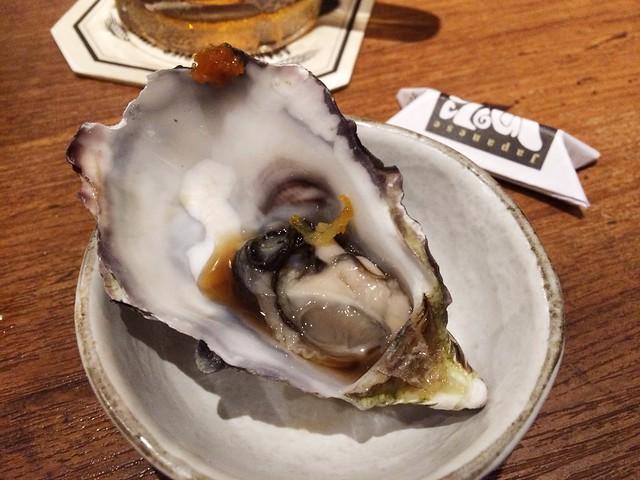 Oyster, Omakase @ Teppei