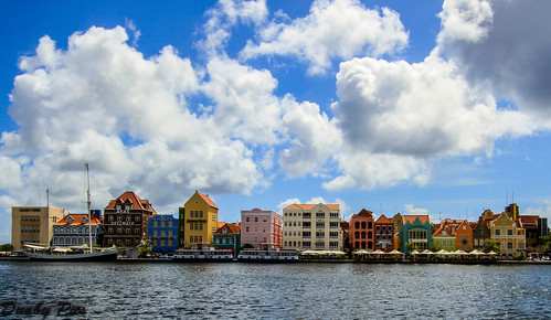 ocean city sea color water netherlands dutch architecture landscape photo view pic curacao vista caribbean emerald willemstad antilles
