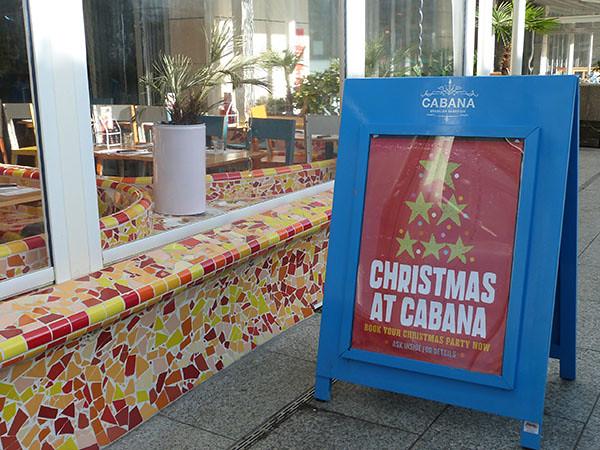 Christmas at Cabana