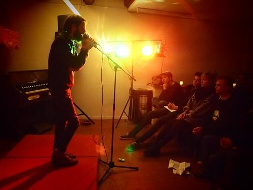 Poetry Slam på Trykkeriet