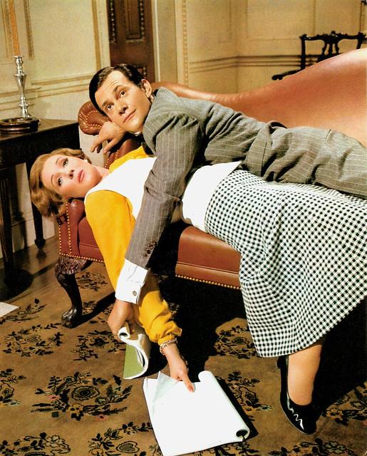 Julie Andrews and Daniel Massey in Star!