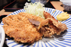 meal, tonkatsu, panko, fried food, seafood, meat, food, dish, cuisine, fried chicken,