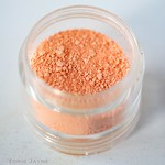 Peach edible dusting colour