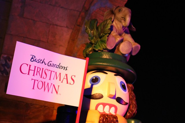 Christmas Town 2013 at Busch Gardens Tampa
