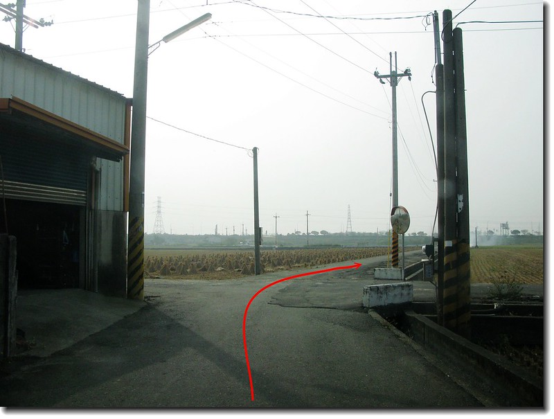 後溝子基點行車路線 2