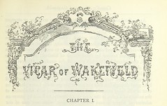 """British Library digitised image from page 55 of """"The vicar of Wakefield, and other works ... With introduction notes and a life of Oliver Goldsmith, by John Francis Waller"""""""