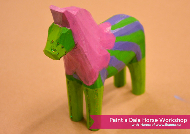 Happy Dala Horse  (Copyright Photo Hanna Andersson)