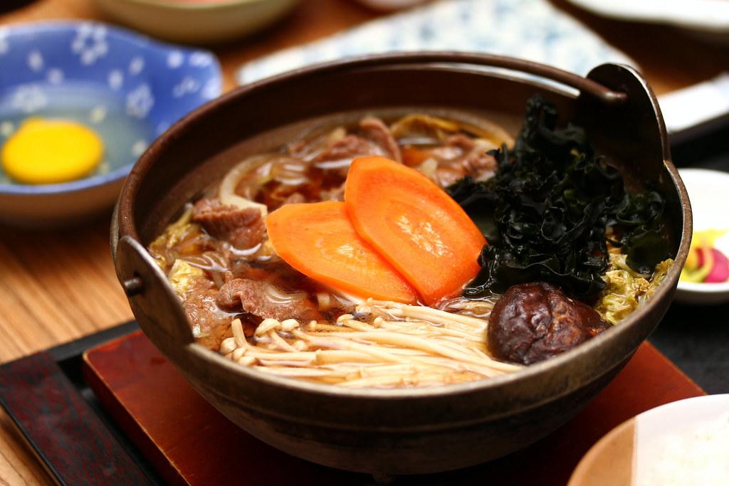 Chikuwa Tei: Sukiyaki Teishoku