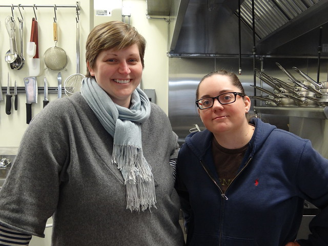 Owner Andrea Carbine and Executive Chef Kara Decker