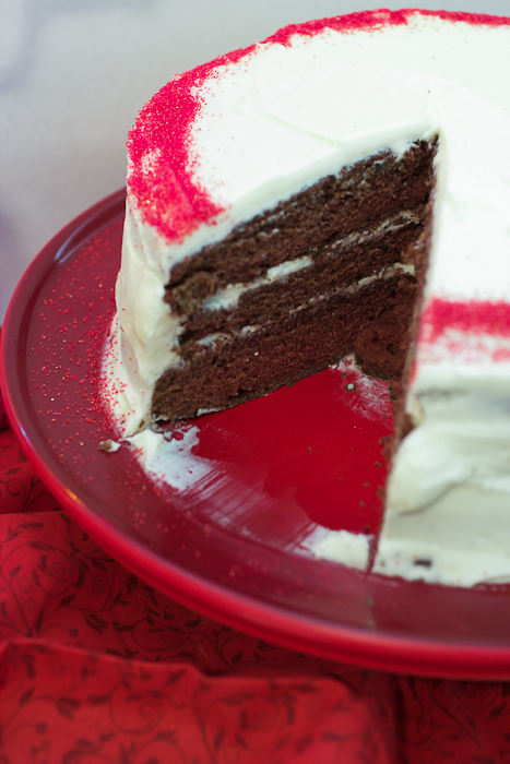 red wine velvet cake sundaysupper the girl in the