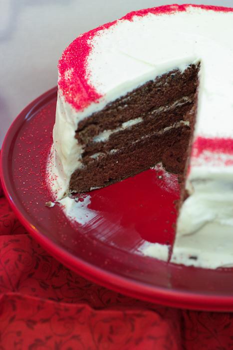 Red Wine Velvet Cake
