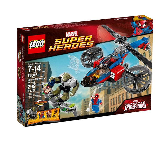 LEGO Super Heroes Marvel 76016 - Spider-Helicopter Rescue