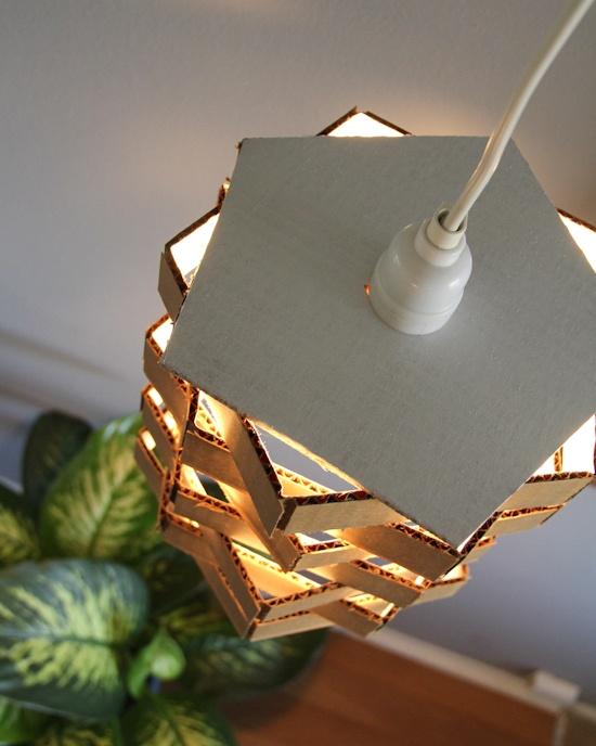 DIY-hanglamp-karton