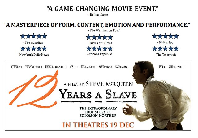 [Movie Review] 12 Years a Slave - Alvinology