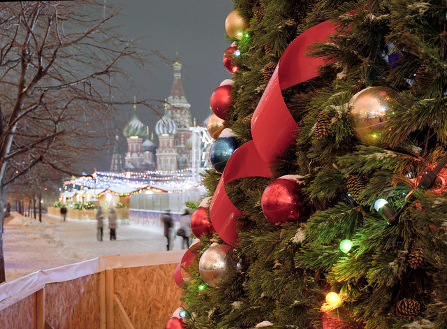 Prime christmas fir in Russia :)