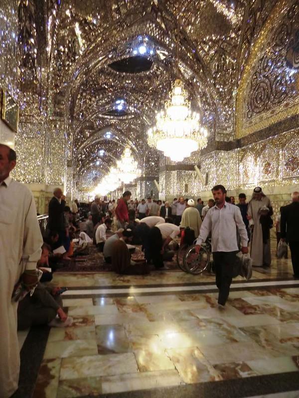 166 Interior de la mezquita de Iman Reza en Masshad. Foto de Majid Kharinkani (8)