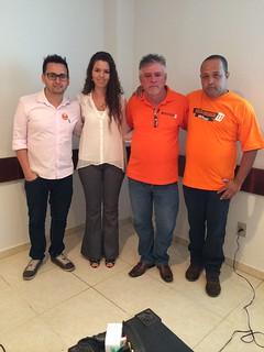 Diogo Telles, Alliny Sartóri, Sandoval Fernandes e Odair