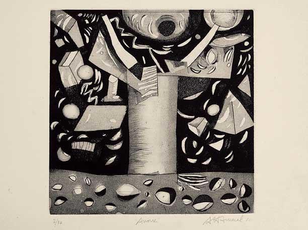Antonio Henrique Amaral: Árvore, 1982