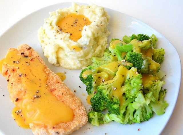 Cheesy Turkey Cutlets