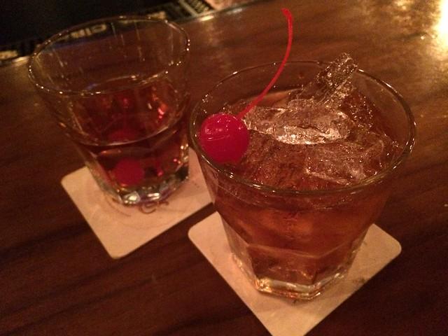 Manhattan cocktails - Dear Mom
