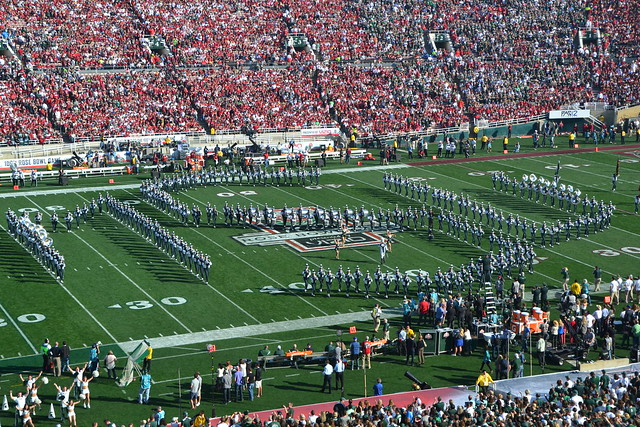 Michigan State won the 100th Rose Bowl Game against Stanford