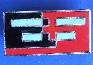 Rail Express Systems (British Rail) - staff /merchandise badge (1991-1996)