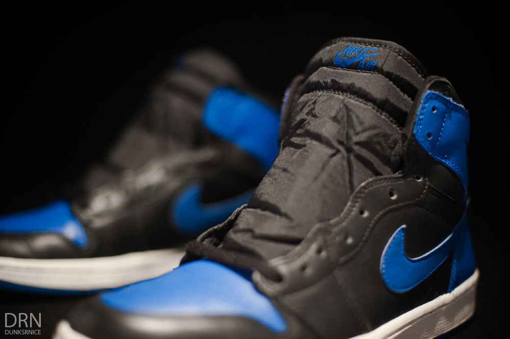 2001 Black/Royal Blue I's.