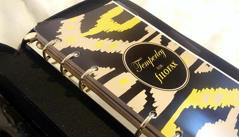 Temperley London Filofax cover