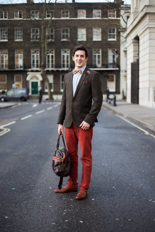 Street Style - Ben, London Collections: Men