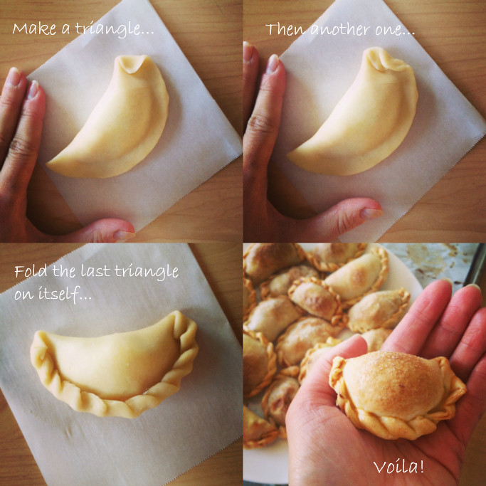 How to Seal Empanadas - the