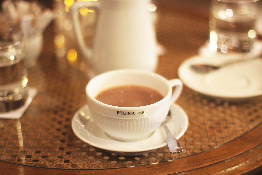Regina hotel hot chocolate
