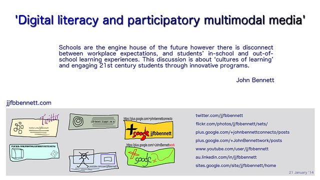 Digital literacy and participatory multimodal media