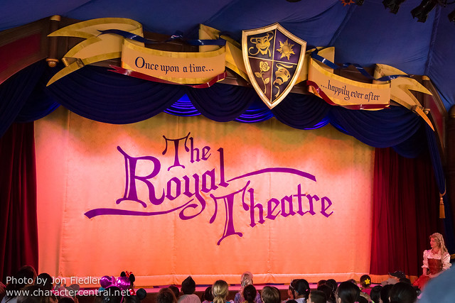 Disneyland Summer 2013 - The Royal Theatre presents Beauty and the Beast