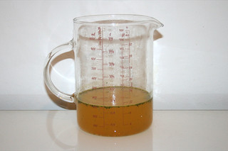 08 - Zutat Gemüsebrühe / Ingredient vegetable stock