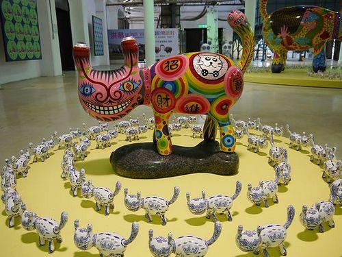 taiwan景点-台中`快乐动物派对`室内展厅开趴