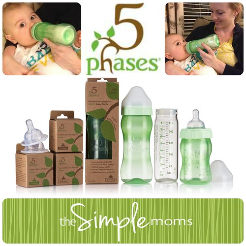 5 phases bottle collage