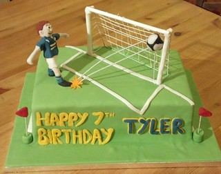 Leicester City Football Cake Topper