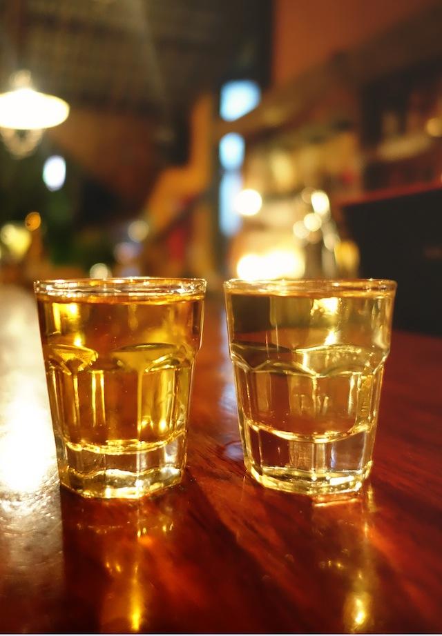 El Nido La Salangane flavored rum shots