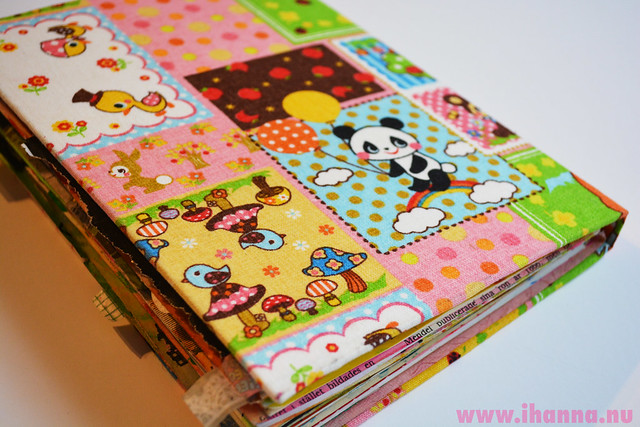 Kawaii Art Journal backside (Copyright Hanna Andersson)