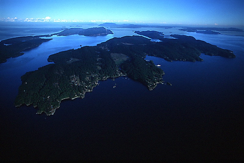 Pender Islands, Gulf Islands, Georgia Strait, British Columbia, Canada