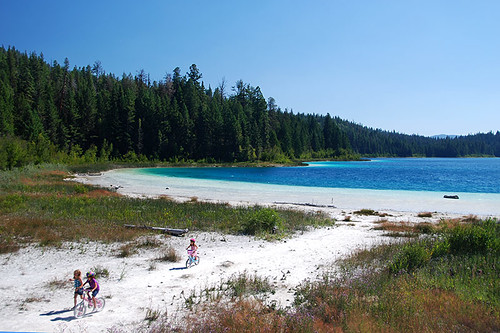 Kentucky Lake, Kentucky-Alleyne Provincial Park, Merritt, Nicola Valley, British Columbia, Canada
