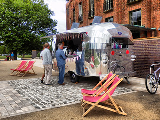 Burger Van, Royal Shakespeare Theatre, Stratford-upon-Avon