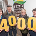 Farm Families Health Check's 4000th person, 5 February 2014