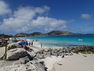 Image of Orient Bay near Arrondissement de Saint-Martin-Saint-Barthélemy.
