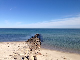 Image of Seaview Beach. massachusetts marthasvineyard oakbluffs