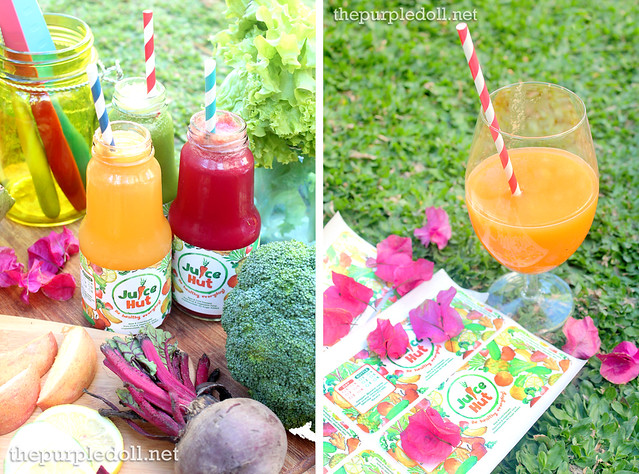 Juice Hut Cold-Pressed Juices The Purple Doll Giveaway