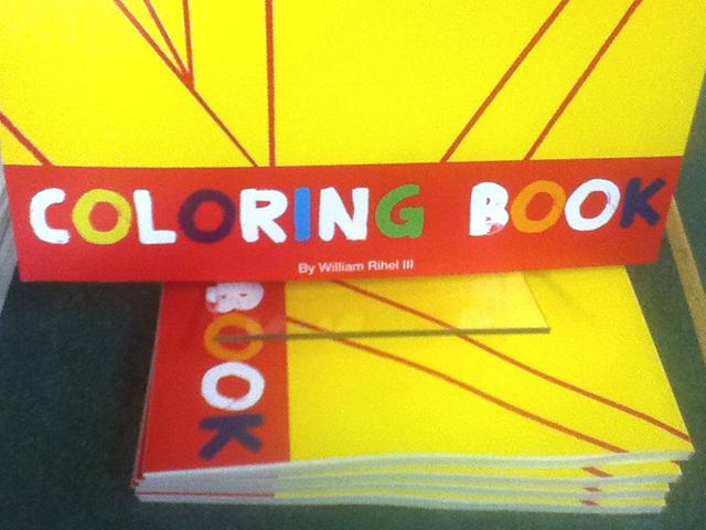Coloring Book by William Rihel #art